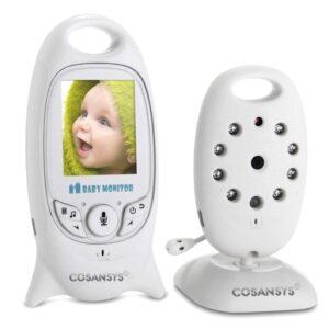 Babyphone mit Kamera und Monitor/2.0 Zoll LCD kabellose Überwachungskamera ( Schlafmodus, Nachtsicht, Temperatursensor, Schlaflieder )