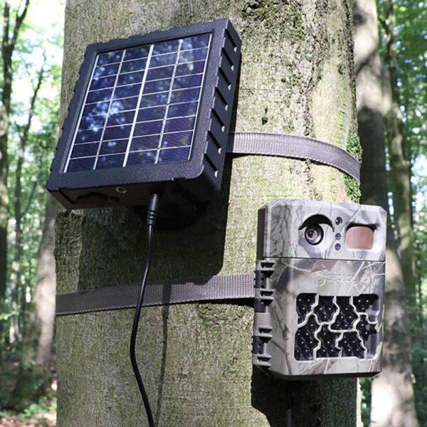 solar Akkupack für Wildkameras und andere 12V Elektronik mit integriertem Akku